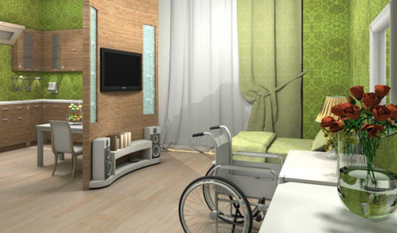 Дополнительное жилье для инвалидов колясочников